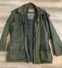 Rodd & Gunn Jacket Men's Field Medium Green Parka Wool Lined Hooded