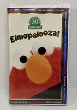 Elmopalooza! Sesame Street Elmo VHS Video Tape 1998 Muppets Jim Henson Clamshell