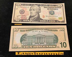Etats Unis 10 Dollars Série 2017 Neuf UNC Hamilton United States