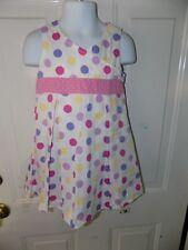 Mini Boden Multi Color Polka Dot Dress Size 2/3Y Girl's EUC