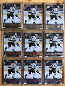 2013-14 Upper Deck TYLER TOFFOLI Young Guns Rookie RC LOT x9 Montreal Canadiens