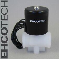 "1/4"" NPT 24V DC Plastic Electric Solenoid Valve, 24VDC NC RO Air Water BBTF"