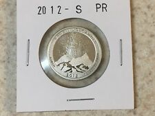 2012 S SILVER PROOF AMERICA THE BEAUTIFUL HAWAII VOLCANOES 90% SILVER QUARTER