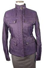 Belstaff MK Fashion Jacket Blouson Size 42 Made in Italy NWT Nylon Leather Trim