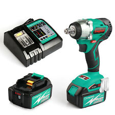 Enegitech 18V Brushless Impact Wrench Combo Kit 4 Speed with Battery and Charger