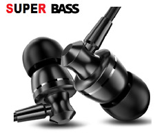 3.5 MM Wired Super Bass Earphone Headphone Earbuds Headset For iPhone Samsung LG