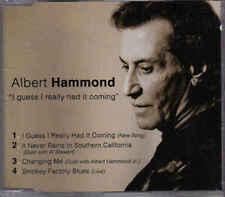 Albert Hammond-I Guess I REally Had It Coming cd maxi single