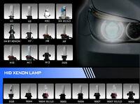 2x Car 35W/55W HID Xenon Headlight Light Bulbs H1 H3 H4 H7 H7R H8 H9 H11 D2R D2S