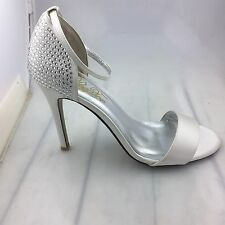 NEW Satin Bridal shoes By Peep Toe RRP $259.95