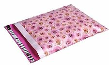 200 14x17 Pale Pink Roses DESIGNER Mailers Poly Envelopes Bags