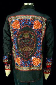 Robert Graham Road Warrior NWT $498 Limited Edition Beaded Embroidered Medium
