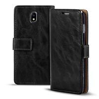 Handy Tasche Samsung Galaxy J3 2017 Flip Cover Case Schutz Hülle Wallet  Etui