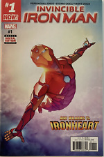 (2017) INVINCIBLE IRON MAN #1 Riri Williams is IRONHEART!