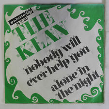 KLAN: Nobody Will Ever Help You / Alone In The Night 45 (Belgium, PS, clean!)
