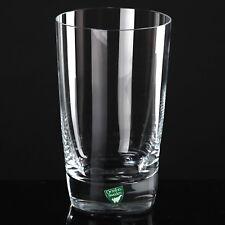 Orrefors Saftglas Wasserglas Becher Glas Tumbler 13 cm hoch quadratischer Stand