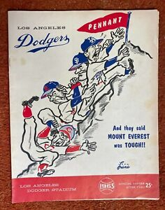 Lot of 3 Baseball Scorecards: Los Angeles Dodgers 1963, 64, 71 with ticket stubs