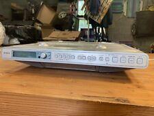 SONY ICF-CD553RM Under Cabinet CD Player Clock Radio Weather AM/FM No Remote