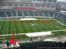 2 Philadelphia Eagles Tickets  San Francisco 49ers 10/29 NO ONE IN FRONT OF YOU!
