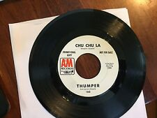 ROCK 45 RPM RECORD - THUMBER - A&M 1045 - PROMO