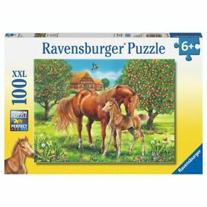 Ravensburger Puzzle 100 Piece Horses In The Field
