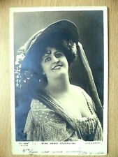1905 Used Postcards- Actresses MISS MARIE STUDHOLME, No206 + Stamp