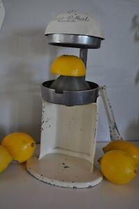 Vintage Rival Juice O Mat: Citrus Orange Juicer White Art Deco : MADE in USA