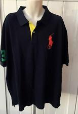 Ralph Lauren Mens polo big tall classic fit big pony mesh shirt navy nwt 4xb