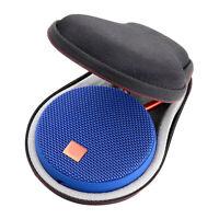 Hard Travel Portable Bag Storage Box Cover For JBL Clip 2 / 3 Bluetooth Speaker