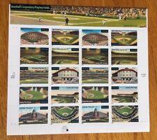 Baseball Legendary Playing Fields 34 cents Sheet Pane 2001 3510-3519 MINT NH