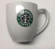 Starbucks Original White Coffee /Tea Ceramic Mug Cup Green Mermaid 14oz 2008
