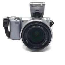 Sony Alpha NEX-5R 16.1MP Digital Camera Silver (Kit w/ OSS 18-55mm Lens) - 3716