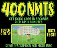 ONLINE 400 Nook Miles Tickets 🔥 INSTANT PICK UP! 🔥 Animal Crossing