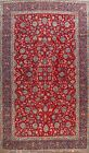 Vintage All-Over Floral RED Najafabad Hand-knotted Area Rug Dining Room 8'x13'