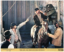 LIFE AND TIMES OF JUDGE ROY BEAN ORIGINAL US 8X10 LOBBY CARD HANGING SCENE