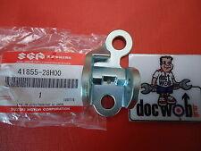 Suzuki RMZ450 2008-2011 new oem right hand footpeg bracket 41855-28H00 RM1825