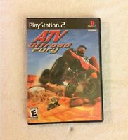 PLAYSTATION 2 PS2 GAME ATV OFFROAD FURY