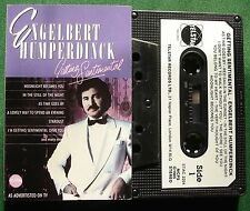 Engelbert Humperdinck Getting Sentimental As Time Goes By + Cassette Tape TESTED