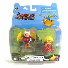 """Adventure Time 2"""" Wizard Finn and Wizard Jake Pack, NEW by Jazwares"""