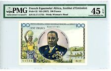 French Equatorial Africa ... P-3 ... 100 Francs ... ND(1957) .*XF-AU* PMG 45 EPQ