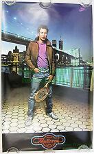 Vintage John McEnroe NIKE Poster w/ Brooklyn Bridge WTC Twin Towers NITF!