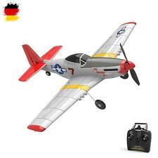 3 Kanal RC ferngesteuertes Mustang P51D Flugzeug mit Akku, 2.4GHz Modell-Flieger