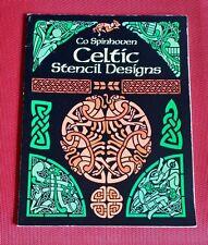 Dutch artist Co Spinhoven CELTIC Stencil Designs 130 designs Copyright Free pb