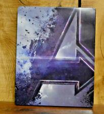 Avengers: Endgame Steelbook 4k UHD and Blu-ray