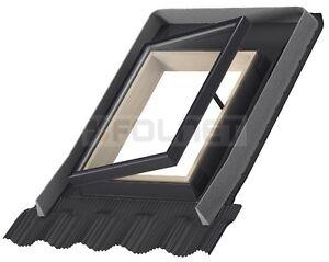 Dachausstieg für Kalträume VELUX VLT zwei Größen Ausstiegsfenster Dachfenster