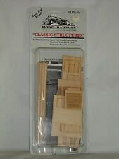 Model Railways Ho Scale Classic Structures Fishing Shack & Dock Kit #1005