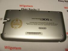 Nintendo 3DS XL Housing Back/Bottom Battery Cover  Silver Shell  Repair Part