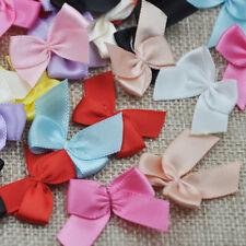 30pcs Mini Satin Ribbon Flowers Bows Gift Craft Wedding Decoration Upick E176