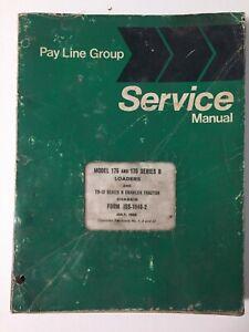 IH International TD15-B Crawler Tractor/175 Loader OE Service Shop Repair Manual