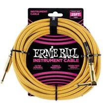 Cavi Ernie Ball oro per chitarre e bassi