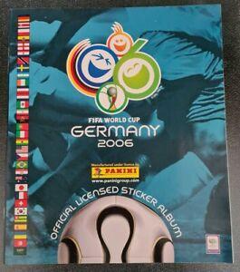 FIFA World Cup 2006 Germany Panini Sticker Empty Album + 6 Free Stickers